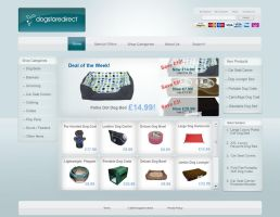 E-commerce Design by greensky-creations