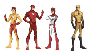Earth-27 Speedsters by shorterazer