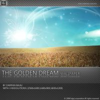 The Golden Dream wallpaper by darpan-aero