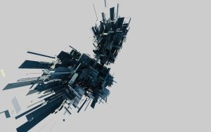 Archi.abstract pure version by psybernetic-x