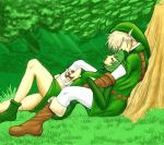 Resting in lost woods by ZaloHero
