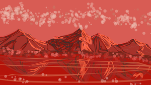 Red Scape by katiejo911