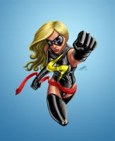 Ms. Marvel by PeterMan2070