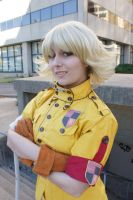 Eurobeat King- AUSA- Seras 10 by DustbunnyCosplay