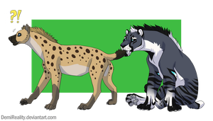 Tail bite by DemiReality