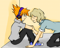 How Long You're Goin to Cry Neku? by Blue-Shine-Star