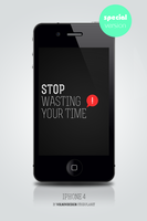 Stop wall for iPhone by OtherPlanet