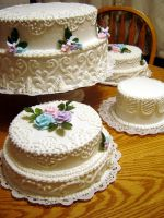 Wedding cake by Erisana