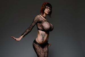 Fishnet and Gold by Ariane-Saint-Amour