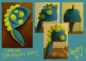 Toddler Dragon Hat by Merlend