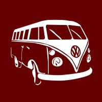 vw bus by loahnaa