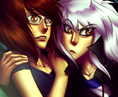 Commission - Kim and Bakura by AngelLust155