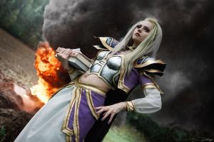 Jaina Proudmoore. Prepare for battle! by DenikaKiomi
