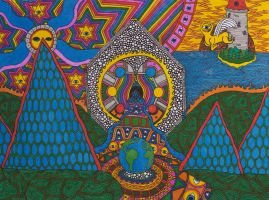 The Setting Earth in the Wake of the Rising Sun by Eccentric-Aquarius