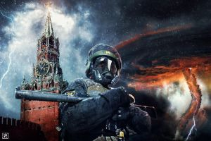 Postapocalypse Moscow ! (based on Metro 2033) by PerfomedRuss