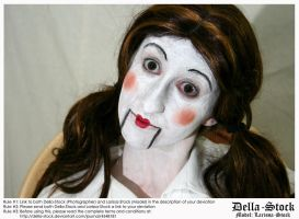 Doll Face by Della-Stock