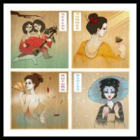 Seasons of the Geisha by Doe-Eyed-Monster