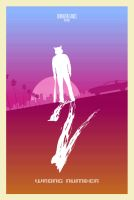 Hotline Miami 2 Wrong Number Minimal Poster 2 by mdk7