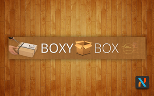 Sold Youtube Banner Design For Boxy-Box by OsherSiton