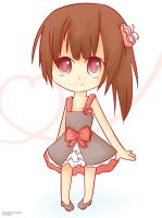 Chibi girl by Cheybobstevepants