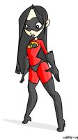 violet parr by papawaff