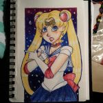 Sailor Moon by PandasInMuffins