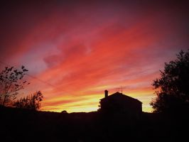 Pink Sunset by PatriciaG