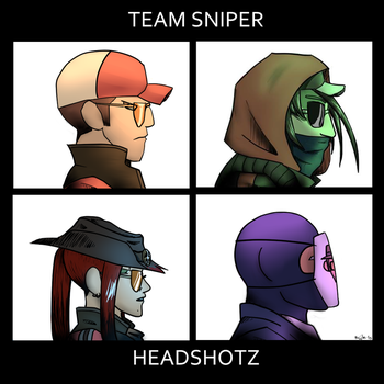 Sniper Team: Demon Days Parody by Kujjles