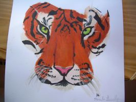 Tiger painting by Riddles-FantasyMagic