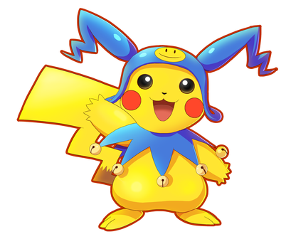 Commission: Pikachu (Frost Costume) by ultimatemaverickx