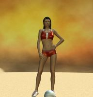 my first render in DAZ Studio by madmick2299