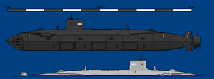 Vengeful Class SSN by Freethinker1984