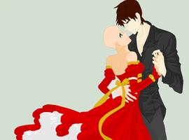 'Dance with me, my darling' ~OPEN Collab~ by MisaMisaCupcake