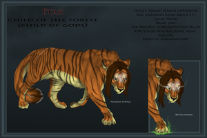 Azhar Etak Reference Sheet by X-TIGRA
