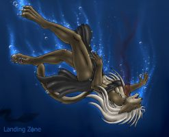 Drowning Naote by LandingZone
