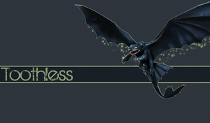 Toothless Wallpaper by StrawberryHollow