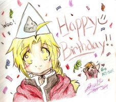 Happy Birthday Edo by WalksinTwilight