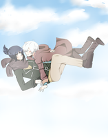 ::NO. 6: Falling with you:: by roe-ru