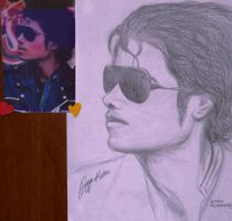 MJ.my drawing by duygukntts