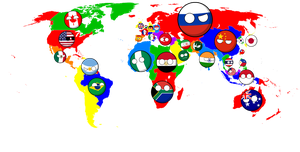Alternate Future of the World: The Thirty Nations by Jett-Hill-Artist