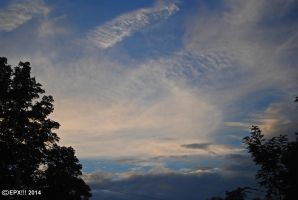Evening Clouds 0054 9-8-14 by eyepilot13