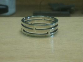 Intercalary ring by The-Silver-Forge