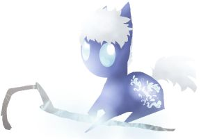 jack frost pony by angelstar000