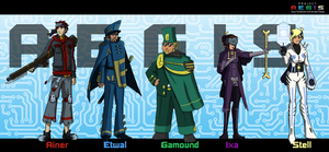 Project AEGIS: The Five Commanders by ZEroePHYRt