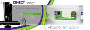 XBOX Bing+Home template by MetroUI