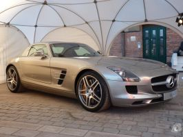 Mercedes SLS AMG by IndianRain