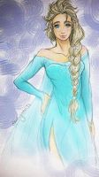 Frozen - Elsa - Let it go .. by Shinigamii93