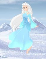 Disney's Snow Queen (Sigrid) by Hillygon