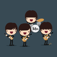 The Beatles by StepPuki