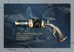 Gun design by duVallonFecit